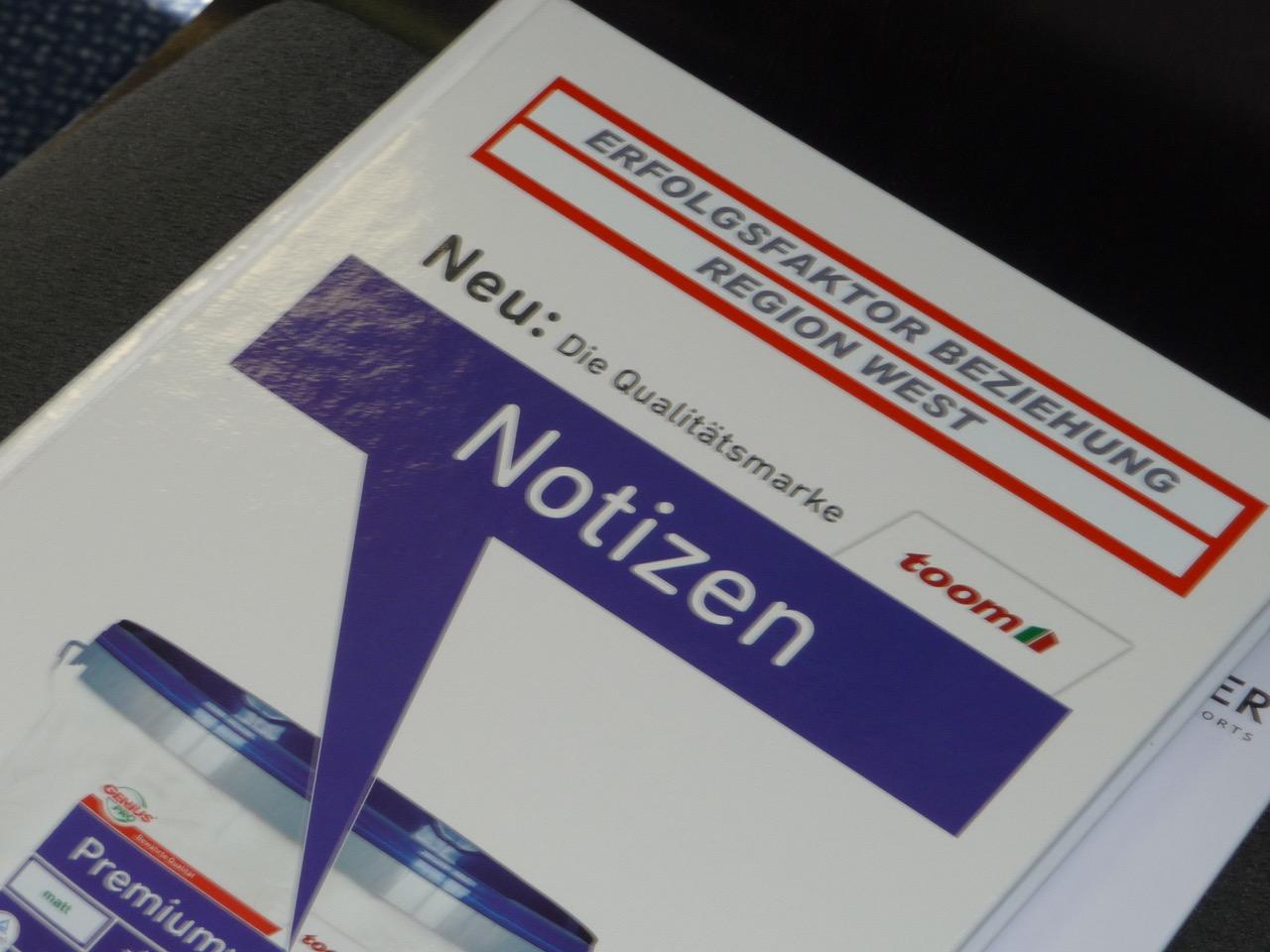toom Erfolgsfaktor Notizbuch